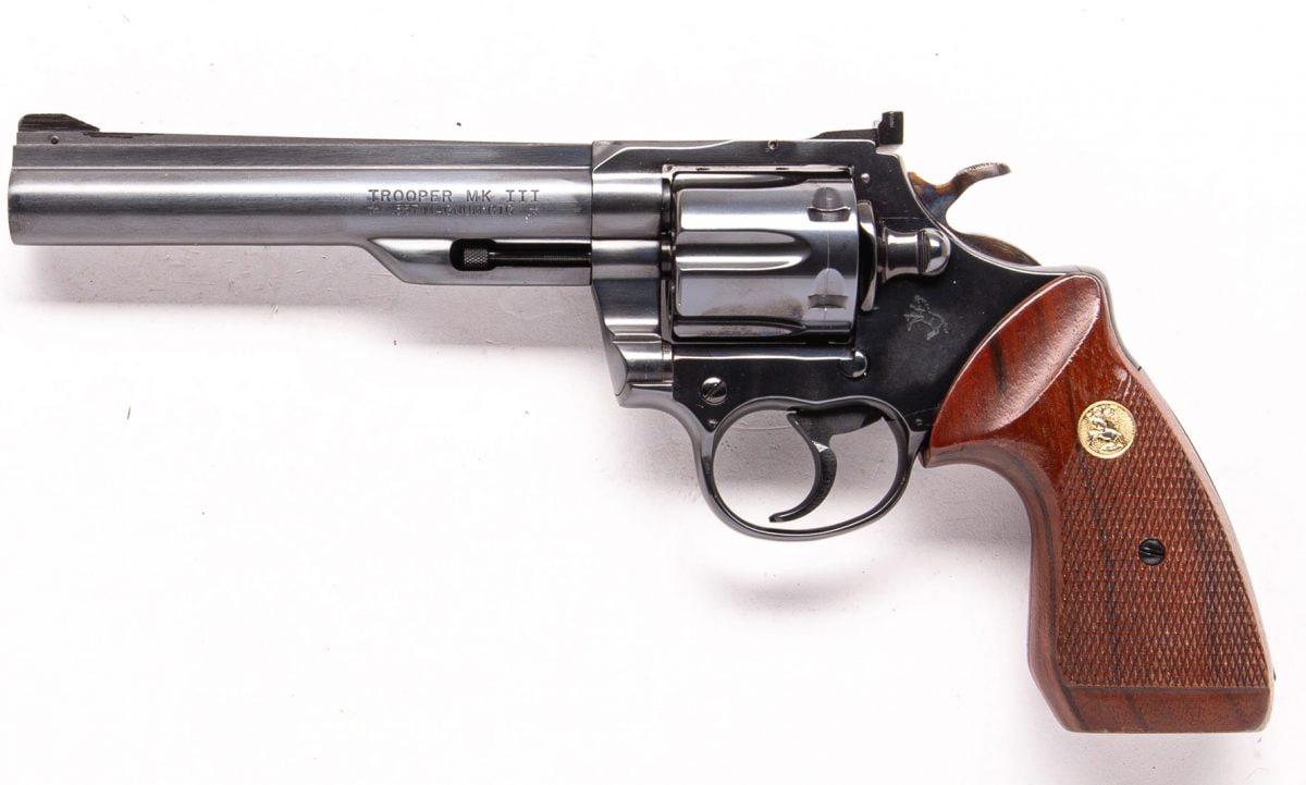 Colt Trooper MK III 1981 6in 357 GDC