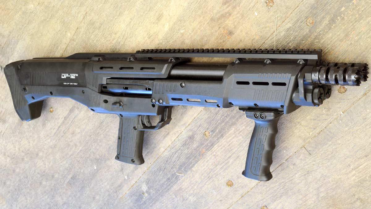Standard Manufacturing's DP-12 Double-Barreled 12-Gauge Shotgun