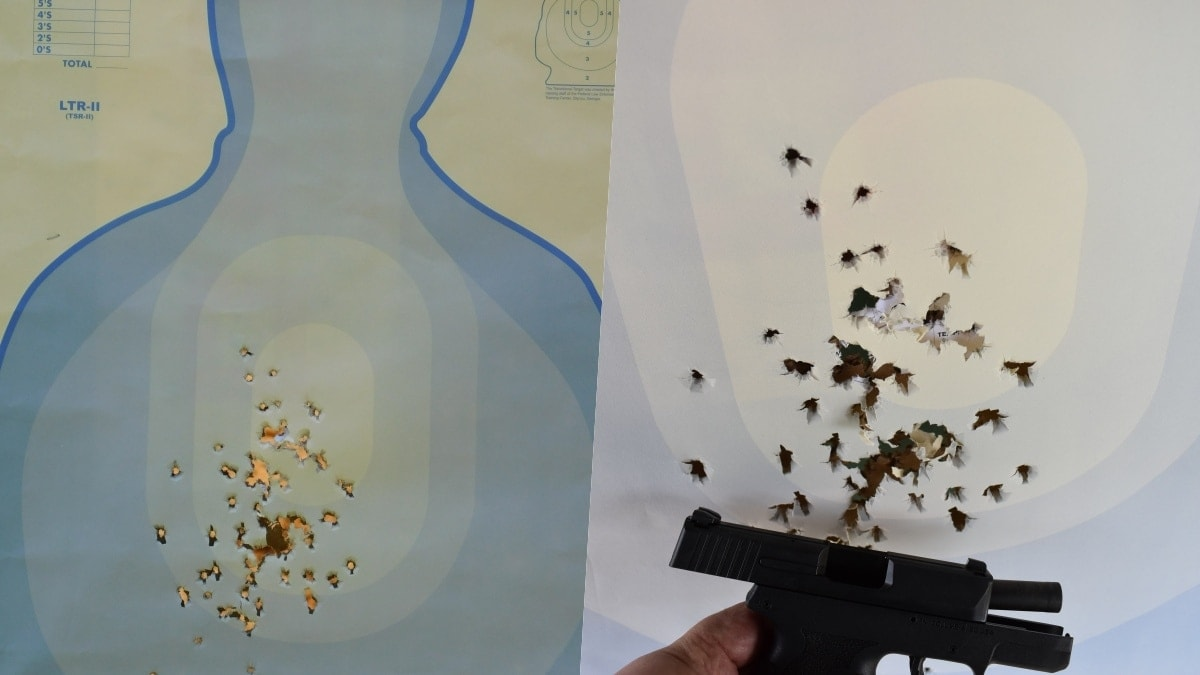 FN 503 100 rounds at 25 yards