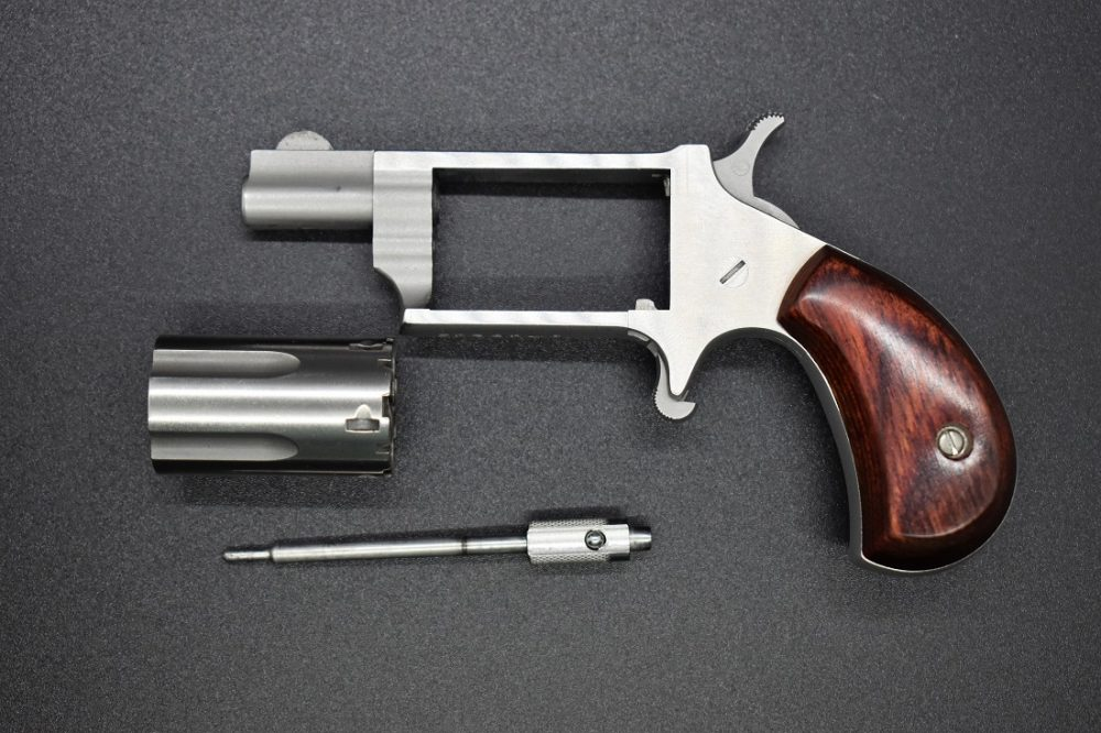 NAA Mini Revolver field stripped