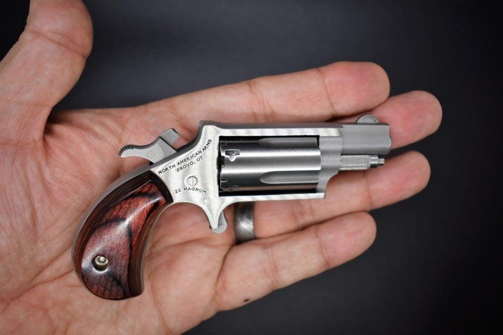 NAA Mini Revolver cocked