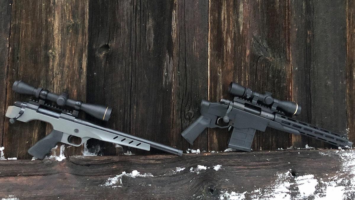 Nosler M48 Independence vs. Remington 700 CP