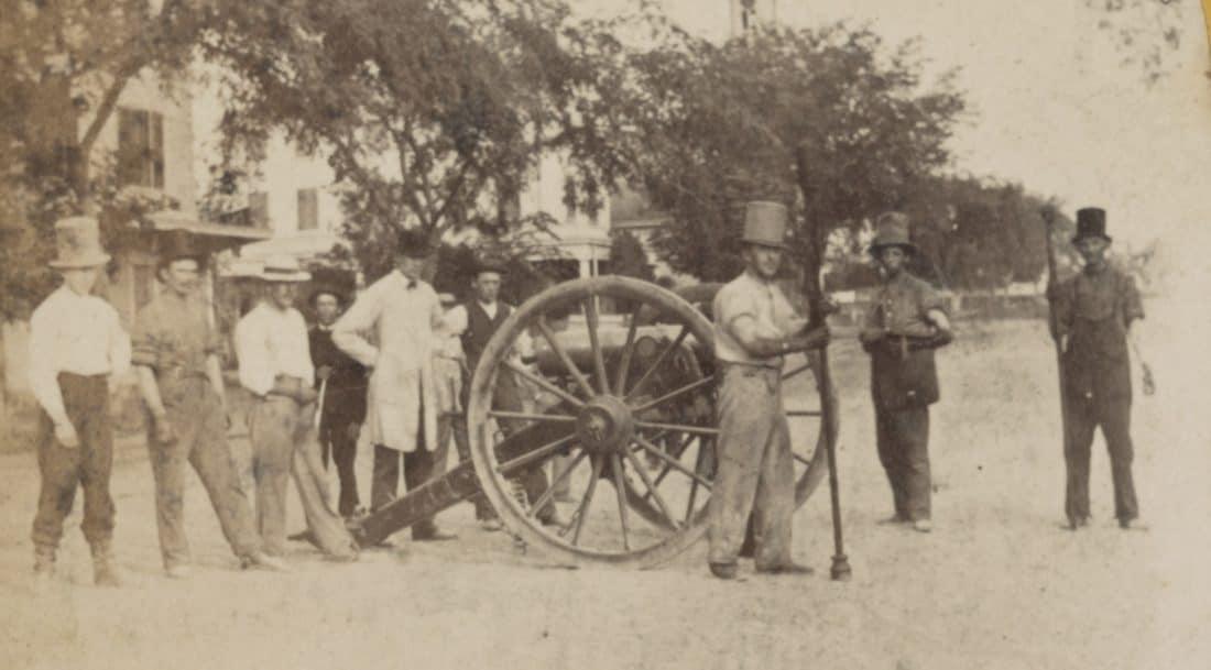 Southern artillery militia, Charleston 1860 LOC