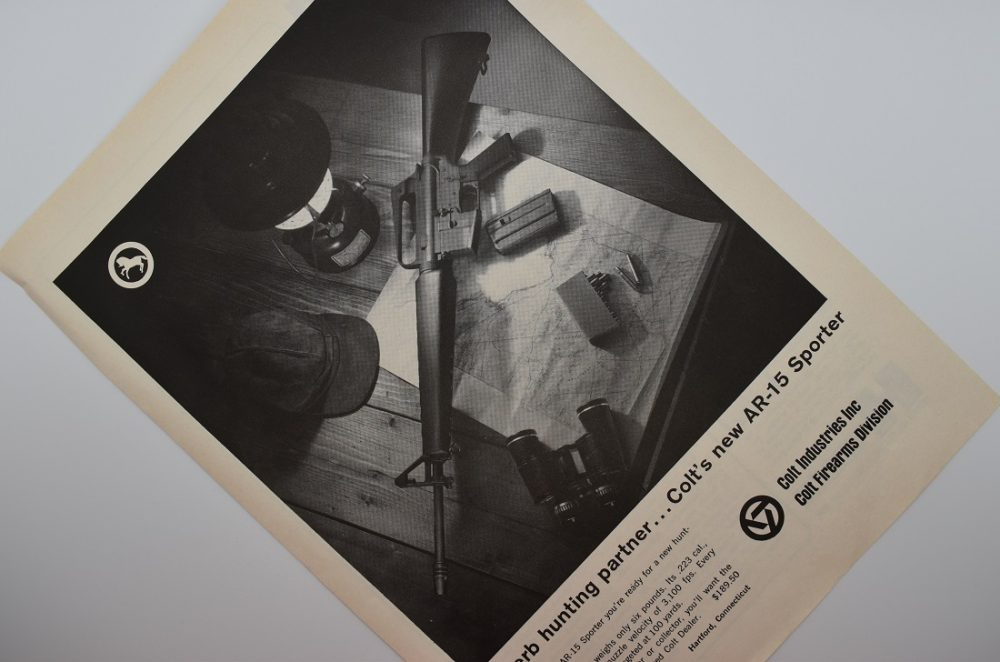 The AR-15 first hit the consumer market in the 1960s