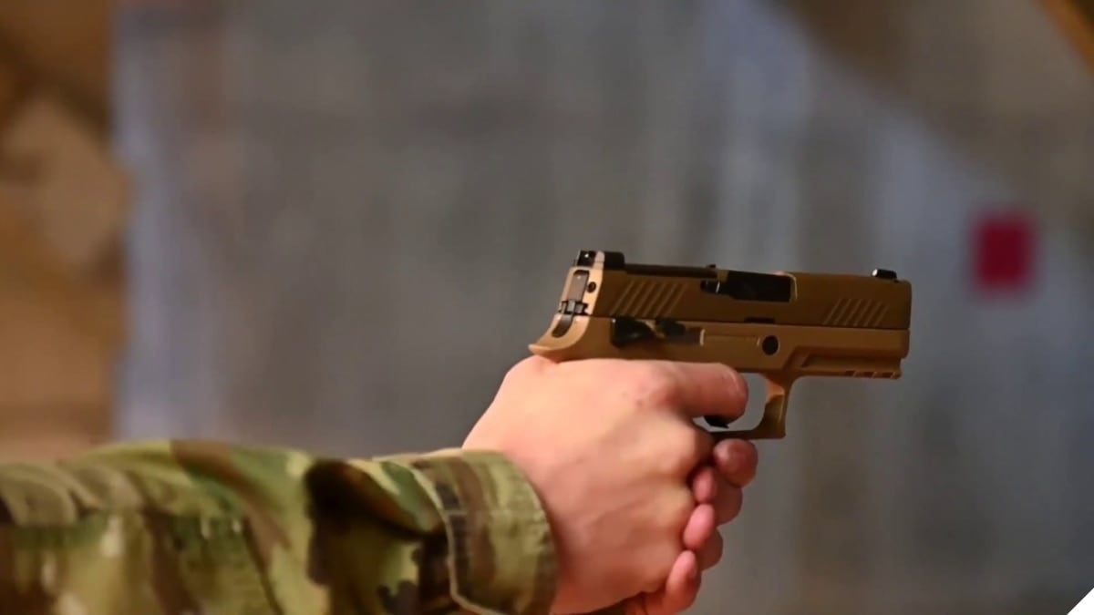 U.S. Air Force Fielding 125,000 New Sig Sauer M18 Pistols