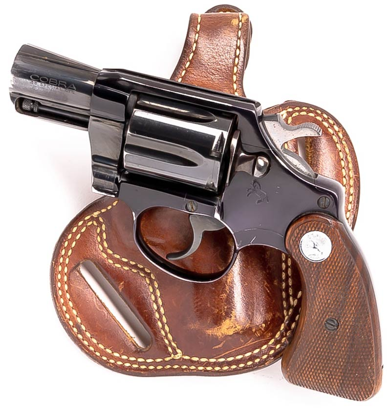 The Colt Cobra is a Very Capable Snub-Nosed Snake Gun