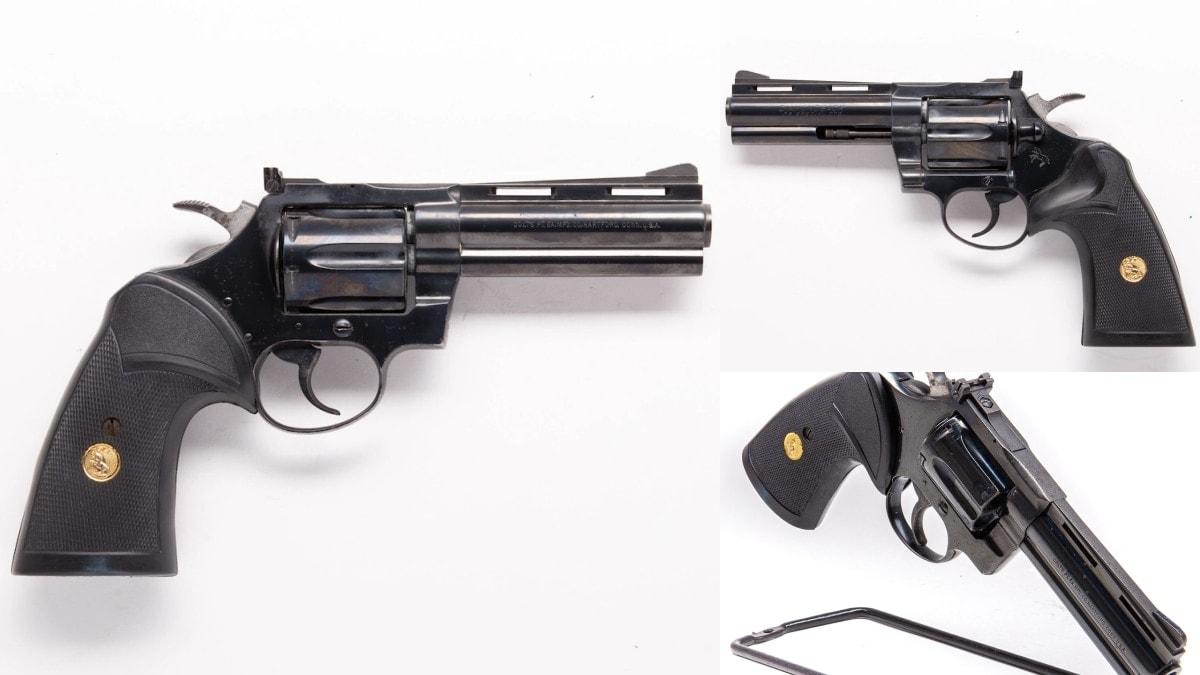 1976 Diamondback. Colt used branded Pachymar Gripper