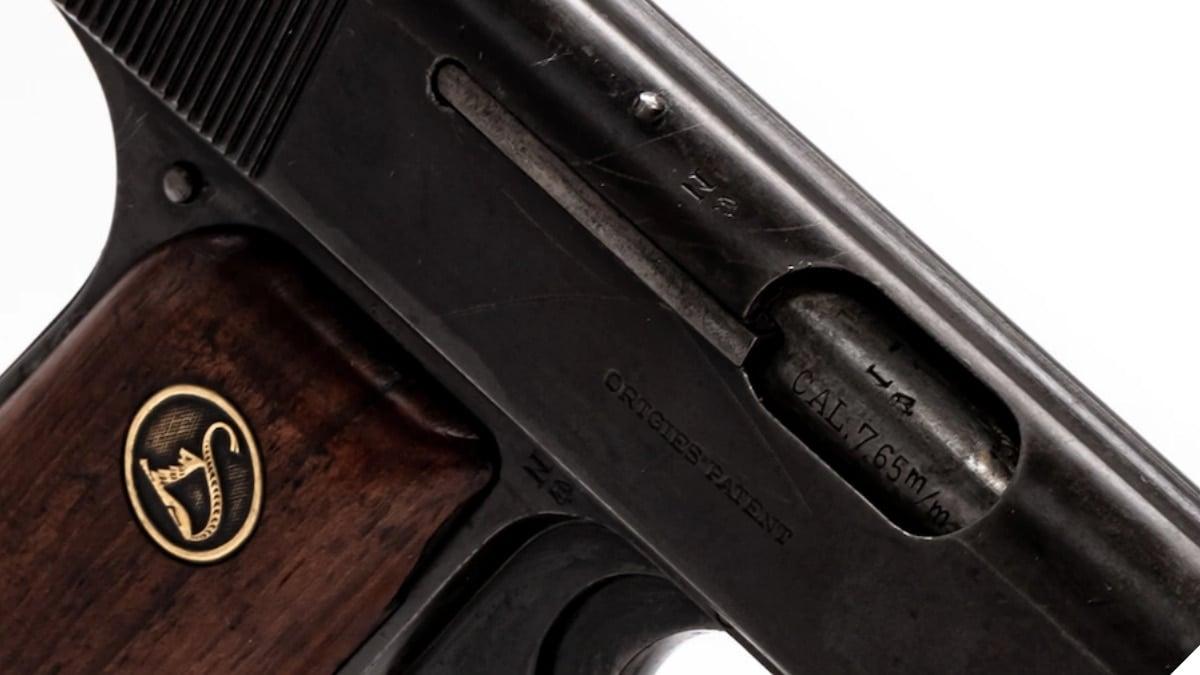 Deutsche Werke-made Ortgies pistols