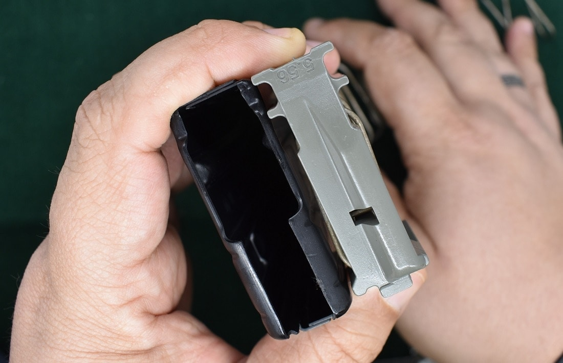 Clean AR-15 magazines