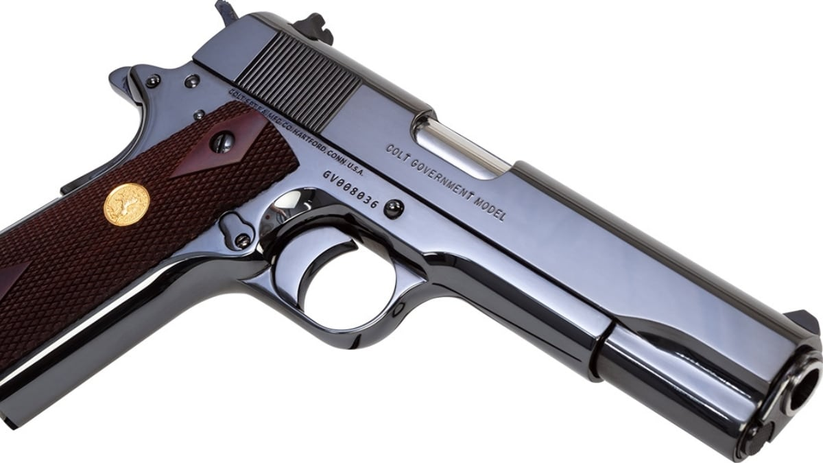 Colt Gets Back in Royal Blue Game with 1911 Classic