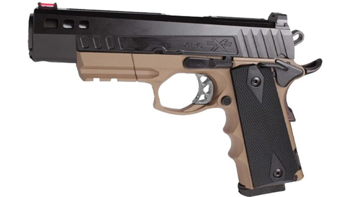 American Tactical Adds FDE to FXH-45 Pistol