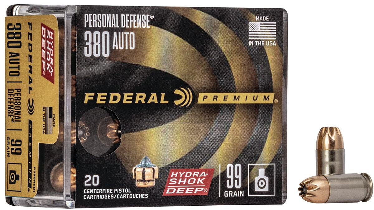Federal Rolls Out New Hydra-Shok Deep .380 Auto