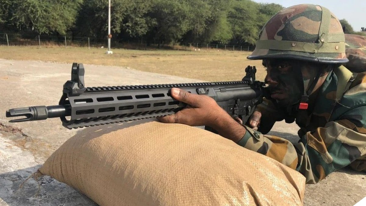 Indian Army Wants Another 72,000 American-Made SIG 716 Rifles