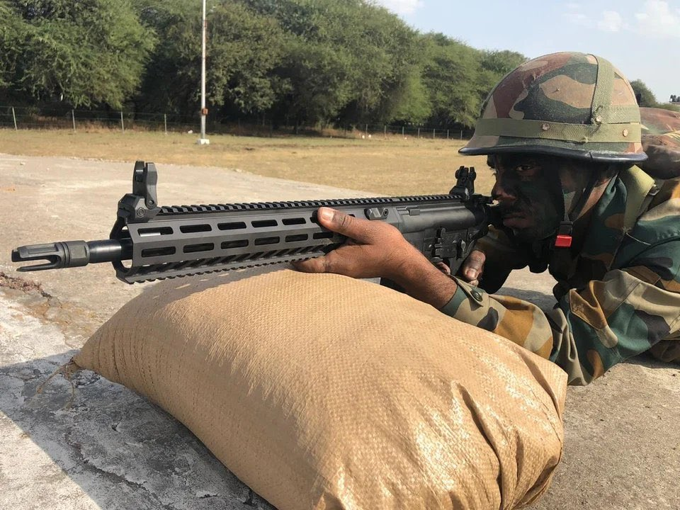 Indian Army SIG 716