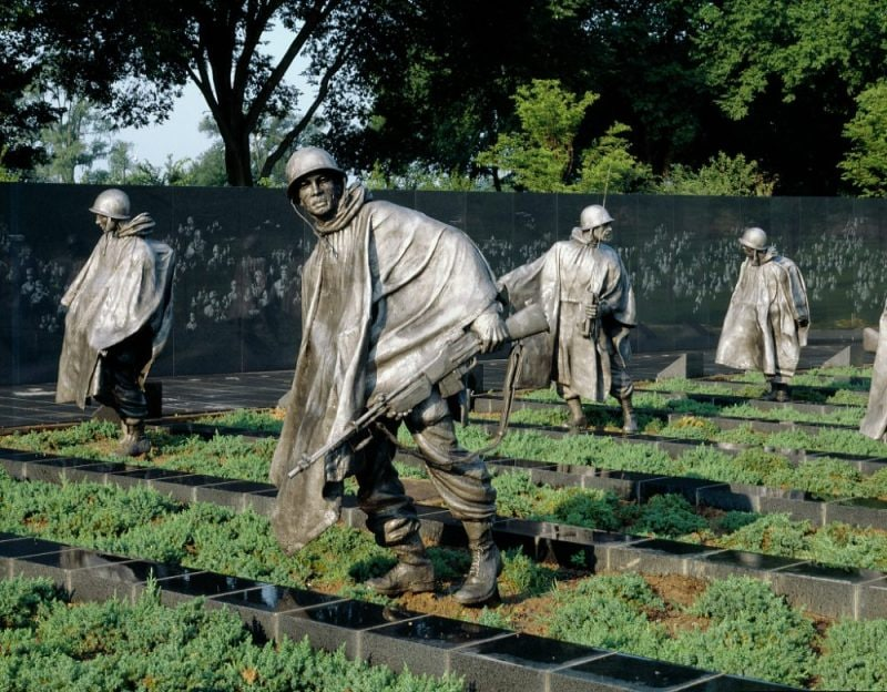 "The Memorial reminds the country that ""Freedom Is Not Free."" (Photo: Library of Congress) https://www.loc.gov/pictures/item/2011631462/"