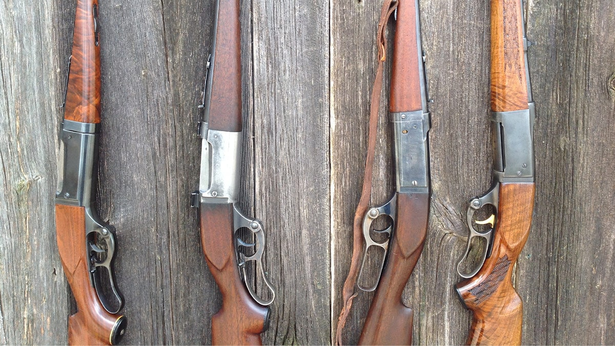 You Want a Practical Lever Gun? Five Timeless Hunting Classics