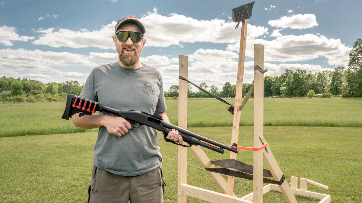 How to Build a Catapult to Launch Targets for Shotgun Practice