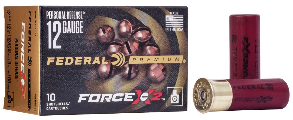 New Federal Force X2 Personal Defense Shotgun Loads a