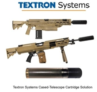 AAI/Textron has subcontracted with ammo maker Winchester-Olin and firearms maker Heckler & Koch, to design their own unique NGSW contender.