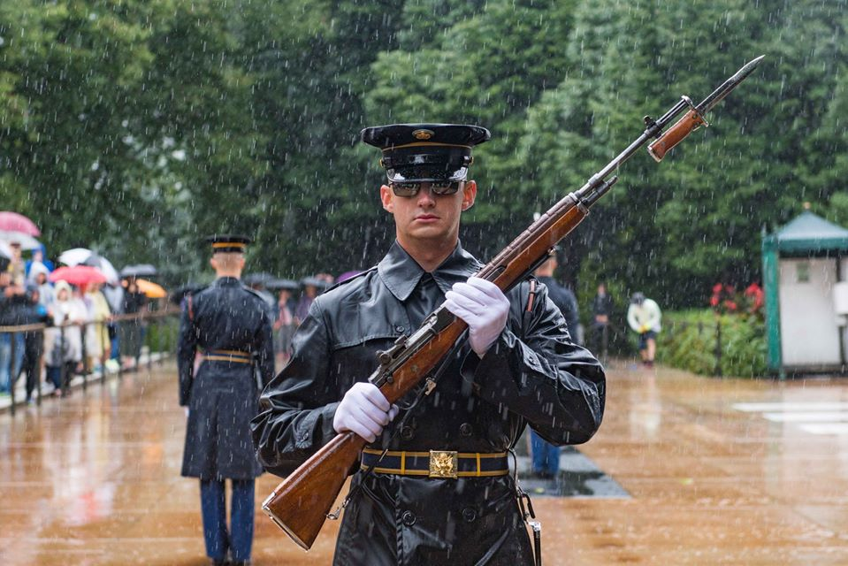 Old Guard Arlington Tomb Sentinel September 9, 2018
