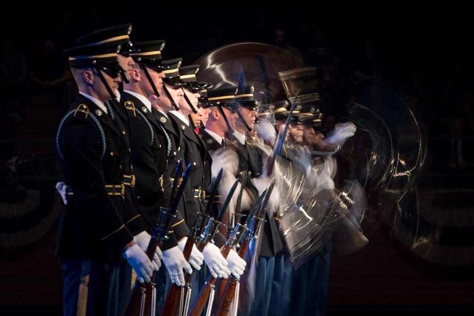 Old Guard U.S. Army Drill Team M1903 1903 ripple 2019