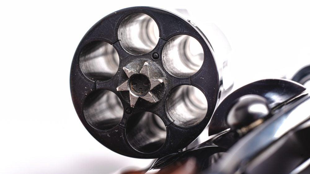 Colt Diamondback cylinder