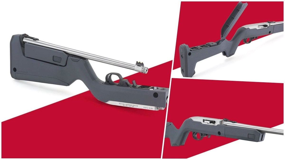 Ruger Debuts 10 22 Takedown with Magpul X-22 Backpacker Stock