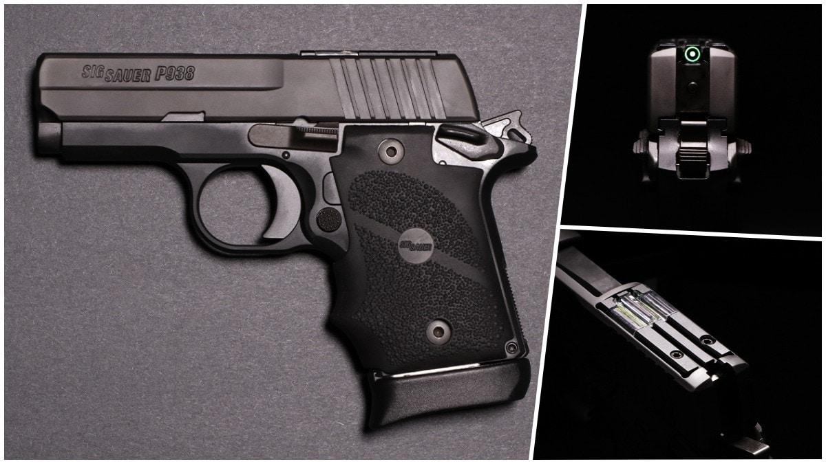 New: Sig Gives P938 the SAS Treatment w/ FT Bullseye Sight