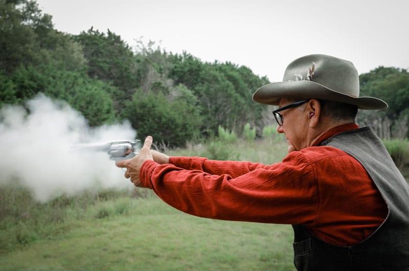 shooting Ruger Vaquero