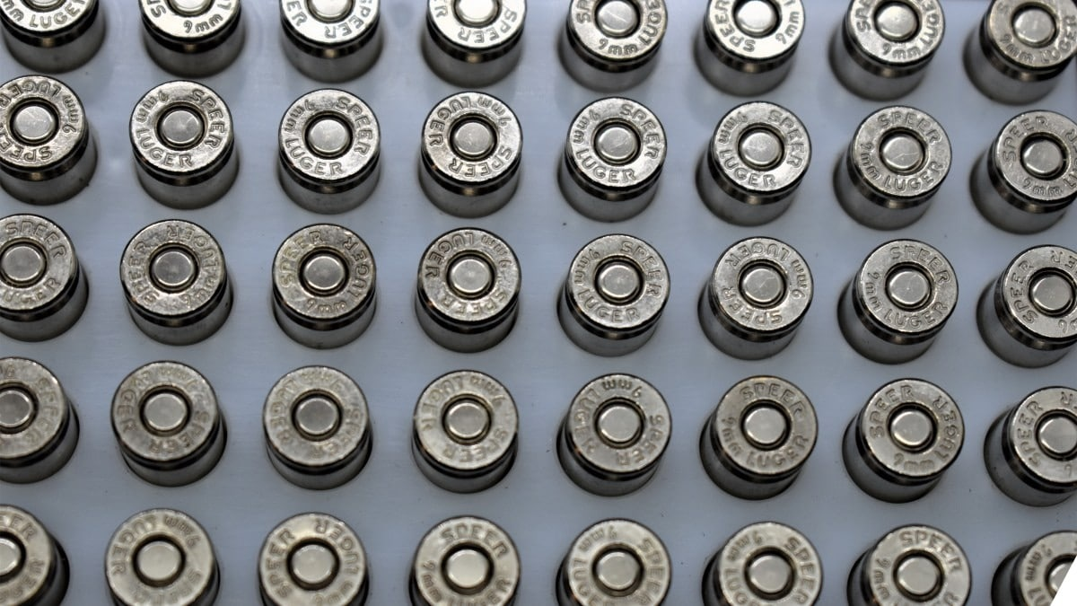 Speer Gold Dot 9mm ammo