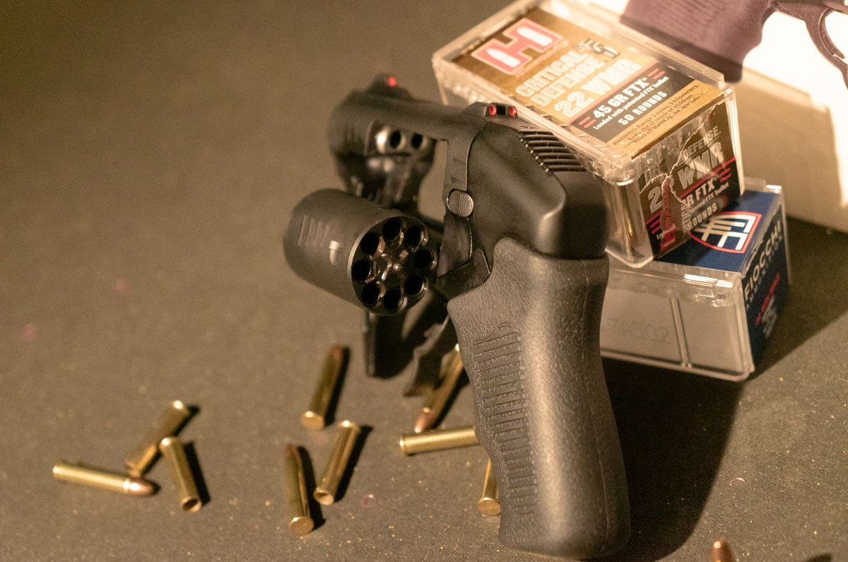 double barreled revolver